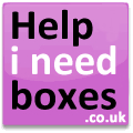 moving boxes for removals or storage