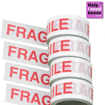 enlarged view of  Fragile Parcel Tape