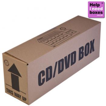 CD/DVD Boxes - 10 Pack