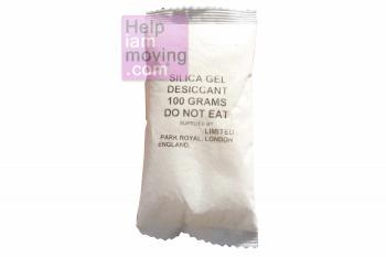 enlarged view of  Silica Gel 100g Bag