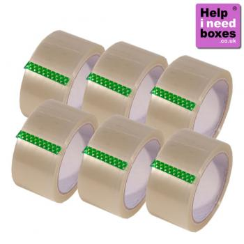 enlarged view of  Parcel Tape 6 Pack
