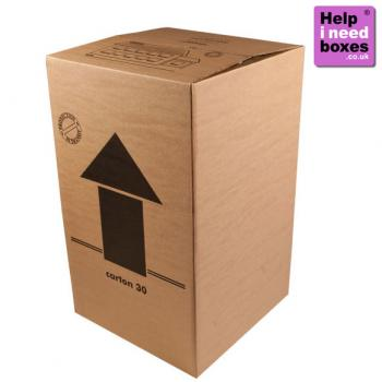 Jumbo Large Boxes - 20 Pack