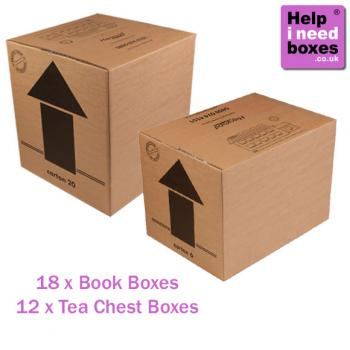 3 Bedroom Moving Box Pack