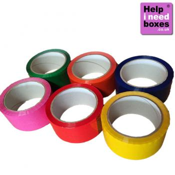 Coloured Tape Assorted